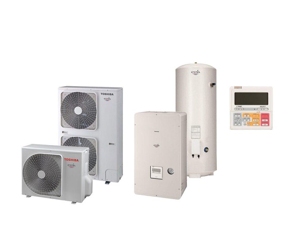 Παπαοικονόμου ClimaΤεχνική - Ψύξη-Θέρμανση-Κλιματισμός - Αντλίες θερμότητας αέρος/νερού & νερού/αέρος